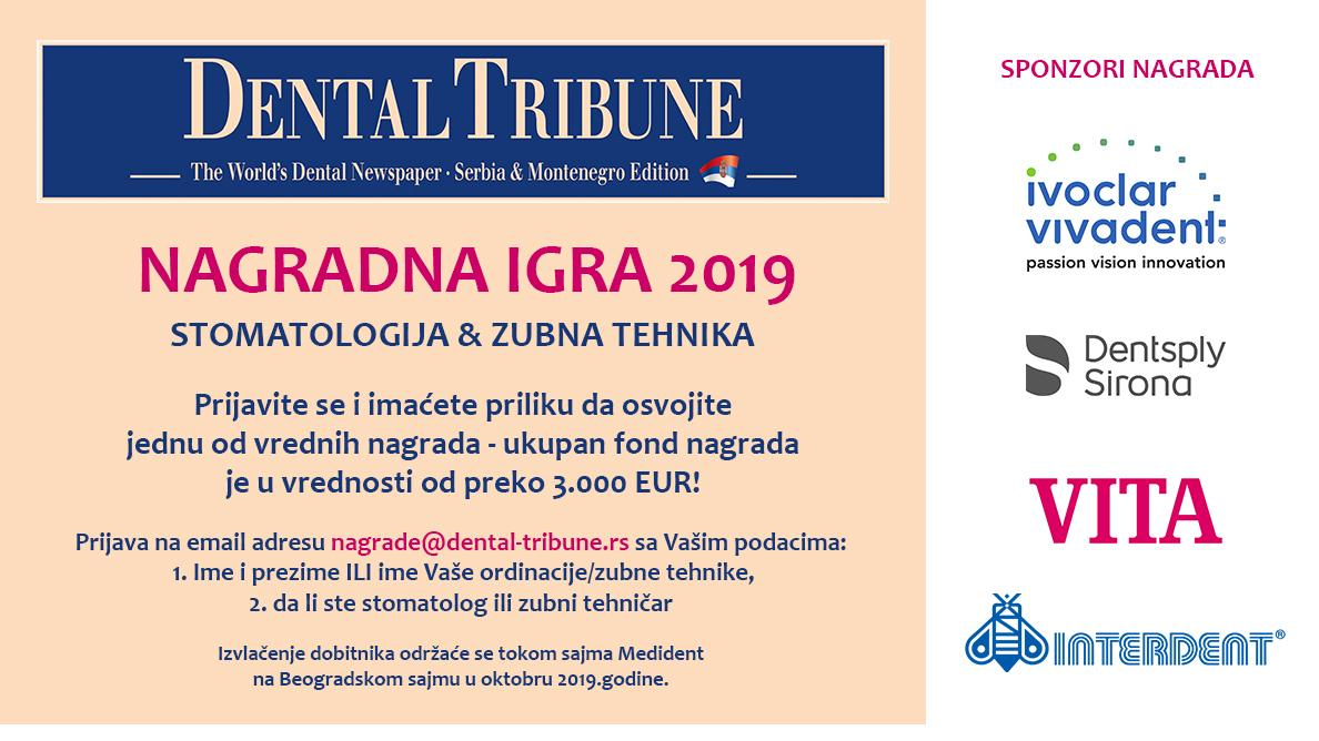 Nagradna igra 2019 – Dental Tribune Serbia&Montenegro